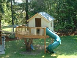 Small Tree House Slide SMALL HOUSES