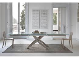 bontempi casa artistico extendable dining table