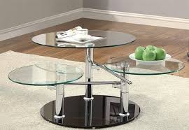glass coffee table. Swivel Glass Coffee Table E