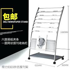 Newspaper rack for office Floor Magazine Rack For Office Magazine Rack For Office Effective Newspaper Rack Magazine Rack Office Lobby Magazine Magazine Rack For Office Proboards66 Magazine Rack For Office Elegant Wall Mounted Magazine Rack In Home