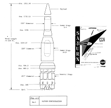 saturn launch vehicle information sa 1 arrangement diagram 1961