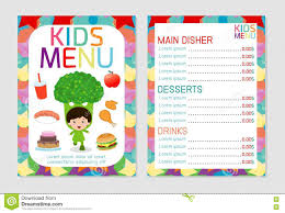 Hand Drawn Vector Illustration Bar Menu Template Of Restaurant ...