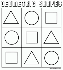 Printable Coloring Pages geometric shape coloring pages : Geometric shapes coloring pages | Coloring pages to download and print
