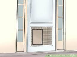 install dog door image titled install a pet door or dog door step install dog door install dog door