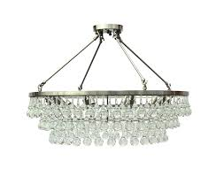 glass drop chandeliers rectangular chandelier home