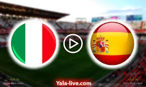 البث مباشر | مباراة إيطاليا وإسبانيا اليوم بث مباشر دوري الأمم الأوروبية  نصف النهائي الكبير - Yalla Live