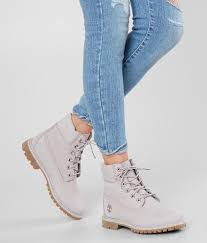 Light Grey Boots Womens Timberland Icon Boot Womens Shoes In Light Lilac Nubuck