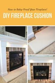 fireplace guard for baby likeable how to baby proof a fireplace diy hearth cushion