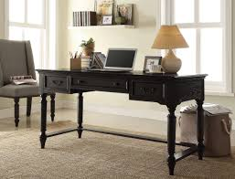 black writing desk attractive black writing desk solid wood construction 2 drawer