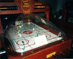 table hockey. best of seven - tournament table hockey dome model