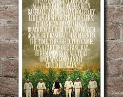 Quotes From Field Of Dreams Best of Field Of Dreams SHOELESS JOE JACKSON Quote Poster