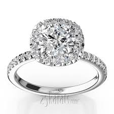 halo engagement rings diamond engagement rings gia certified