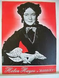 HARRIET Souvenir Program HELEN HAYES / HARRIET BEECHER STOWE NYC 1943 | eBay