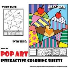 Small Picture Free pop art 2 PATTERNS Id encourage students to come up with