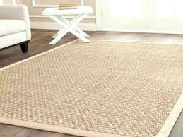 round seagrass rug hand woven natural fiber accents thick jute 8