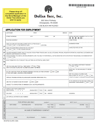 job application forms pdf template form dollar tree job application form