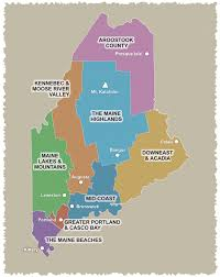 Explore Maine By Region Kennebec Moose River Valley