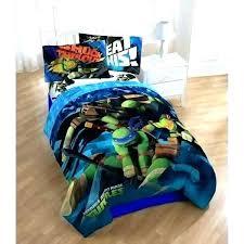 teenage mutant ninja turtles twin bedding comforter and sheet set tmnt toddler bed turtle t full