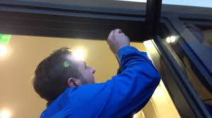 How to adjust a Center Hung Door - YouTube