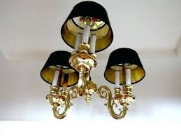black and brass chandelier antique solid campaign style arm shade with string b black drum shade chandelier