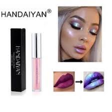 <b>HANDAIYAN</b> 6 Color <b>Diamond</b> Shine Metallic Liquid <b>Lipstick</b> ...