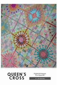 Cross Quilt Pattern Custom Queen's Cross Quilt Pattern With Templates By Jen Kingwell