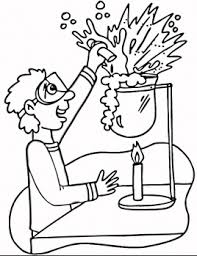 Small Picture Printable Science Lab Coloring Pages 1 Science Pinterest