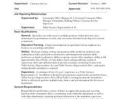 Bank Teller Resume Examples Interesting Bank Teller Resumes Good Summary For Bank Teller Resume Sample Entry