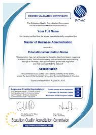 validation diploma validation diploma