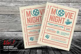Free Movie Night Flyer Templates Movie Night Flyer Template 17 Download In Vector Eps Psd