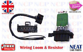 alfa romeo heater motor blower wiring harness loom amp resistor image is loading alfa romeo heater motor blower wiring harness loom