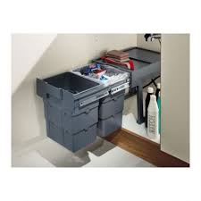 Image Cabinet 50374523 Handles4u Hafele 50374523 Easywaste 16 Litre Pullout Waste Bins