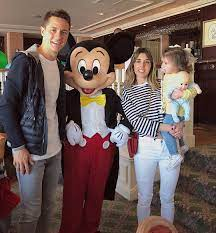 Manchester United FA Cup hero Ander Herrera takes midweek break to  Disneyland Paris with gorgeous partner Isabel Collado and their daughter