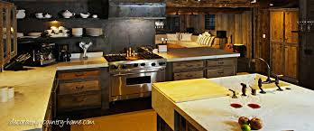 Country Kitchen Design and the Rustic Country Kitchen