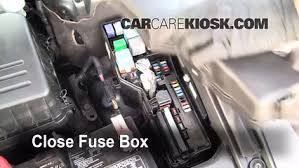 replace a fuse 2005 2012 toyota avalon 2008 toyota avalon 6 replace cover secure the cover and test component