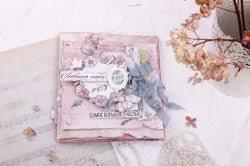 Как изготовить романтичную скрап-открытку в нежных весенних ...