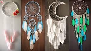 DIY Room Decor | <b>Dream Catcher</b> Wall Hanging Craft!!.. - YouTube