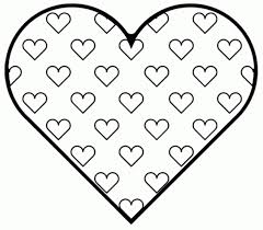 Small Picture Valentines Day Heart Coloring Pages olgusacom