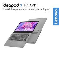 Lenovo Ideapad Slim 3 14ARE05 AMD Ryzen 5 4500U 2.3/4.0GHz 8GB 512GB -  Black - JakartaNotebook.com