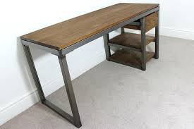 industrial style office desk. Industrial Office Desk Desks Finest Amiable Exotic Chic E With Style