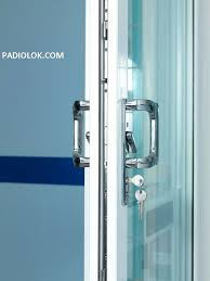 sliding glass door handle with key lock 17 best patio door lock images on