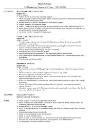 Humana Pharmacist Sample Resume Pharmacy Analyst Resume Samples Velvet Jobs 4