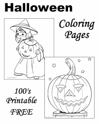 Here are our halloween coloring pages for adults (or talented kids !). Halloween Coloring Pictures Free And Printable