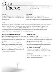 Resume Templates Ios Developer Horsh Beirut Iphone Appes Download