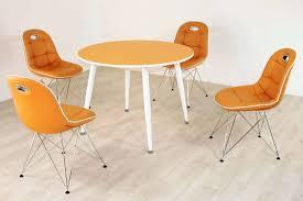 Tischgruppe Im Stil Der Fünfziger Jahre Esstisch Rund Mandarin