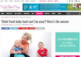 baby advertising jobs in the press nourishing bubs