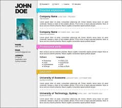 Creative Resume Templates Doc Download Resume Doc Templates Resume
