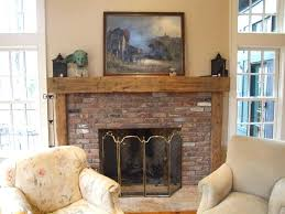 rustic wood fireplace mantels canada oak wooden mantel