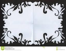Paper Cut Frame Stock Illustration Illustration Of Paper