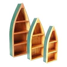 boat shelves wooden boat bookcase 3 boat shaped shelves lot wooden boat bookshelf plans boat shelves boat shelves row boat shelf